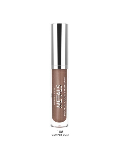 Golden Rose Metals Metallic Liquid Eyeshadow No:108 Coppr D Bakır